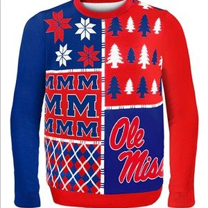 NCAA Sweaters - Men's Mississippi Old Miss Rebels sweater